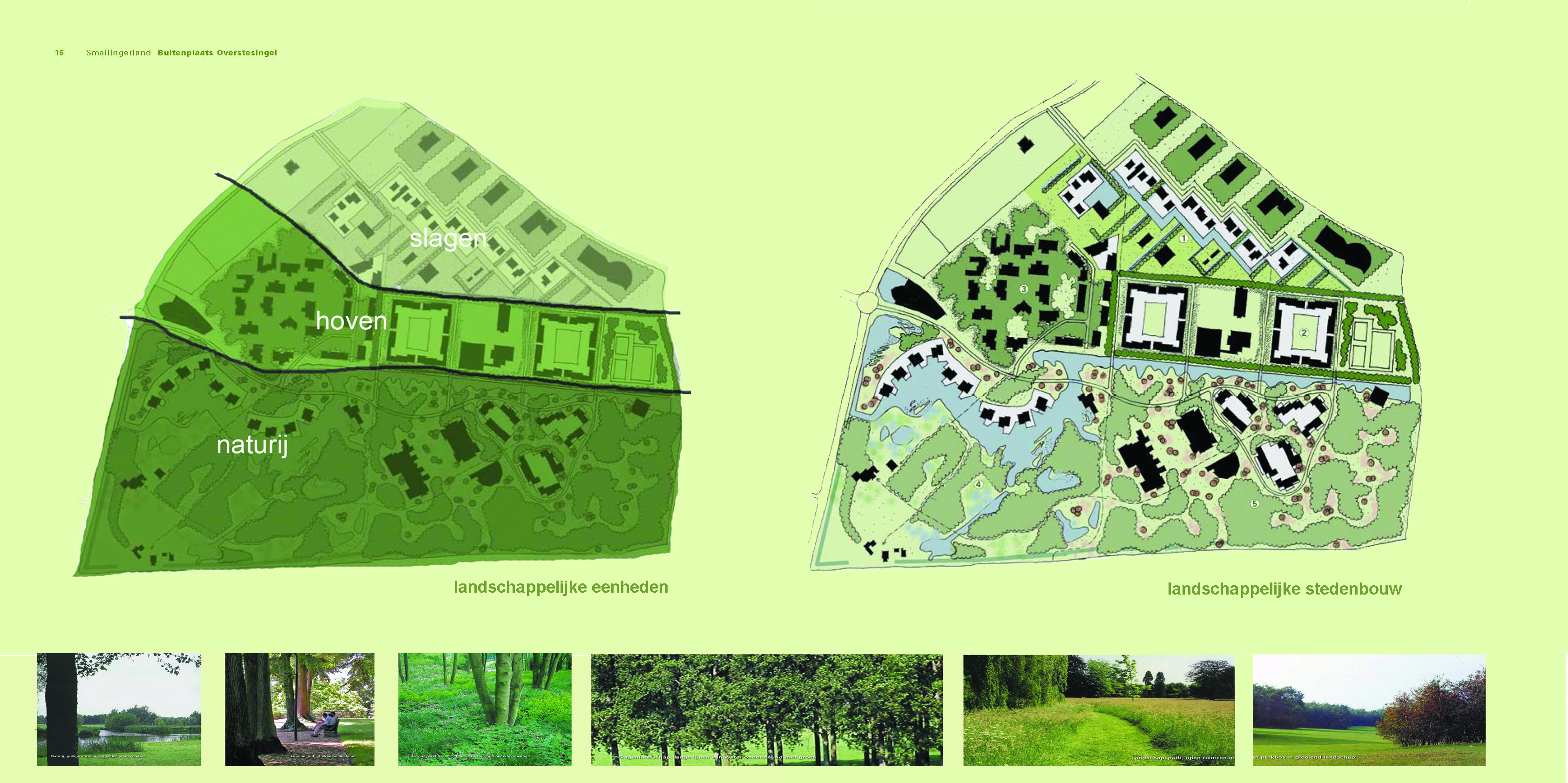 1  landschappelijke zonering en stedenbouw