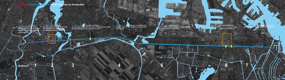 Amsterdamse vaart van Haarlem tot Amserterdam _waternetwerk