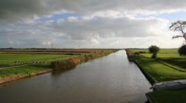 Zwette als trekvaart tussen sneek en Leeuwarden