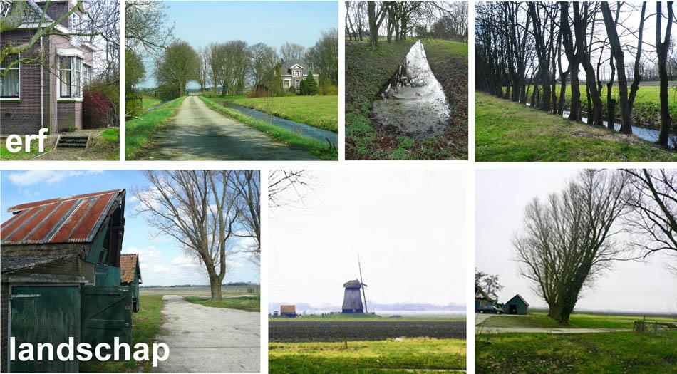verbinding tussen bestaand erf en landschap Noordervaart