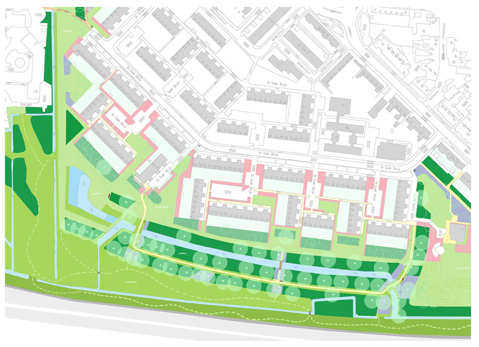 renovatieplan Groenzone A4 Leidschendam