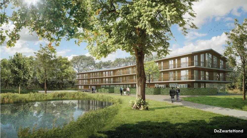 Stadzicht impressie nieuwbouw DeZwarteHond